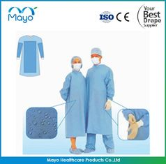 China COVID-19 Disposable SMS Nonwoven Sterile Surgical Gown with CE FDA supplier