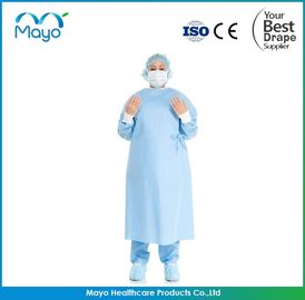 China COVID-19 SMS Nonwoven Protective Surgical Gown with CE ISO FDA supplier