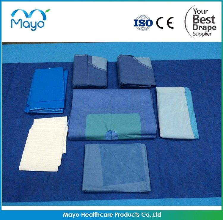 Medical consumables sterile surgical arthroscopy Extremity Pack with gowns